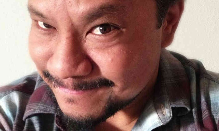 Comic Rex Navarrete at Tommy T's Comedy Club