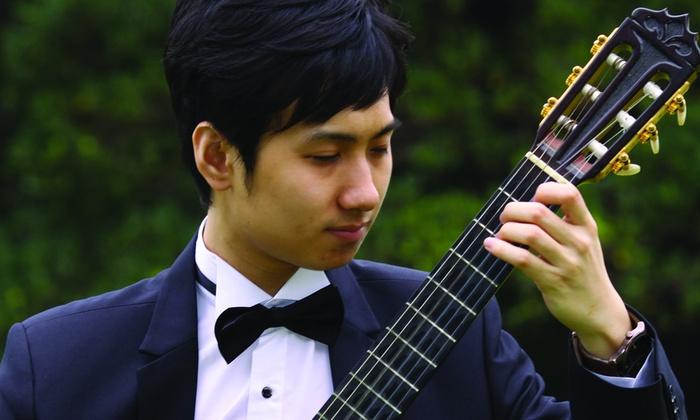 Westmoreland Congregational Church - Bethesda: Classical Guitarist Chia-Wei Lin at Westmoreland Congregational Church