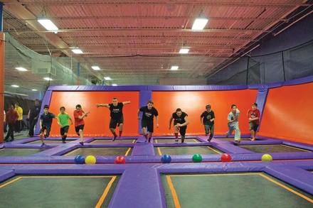 $22.50 For 60 Minutes Of Jump Time For 4 People (Reg. $45)