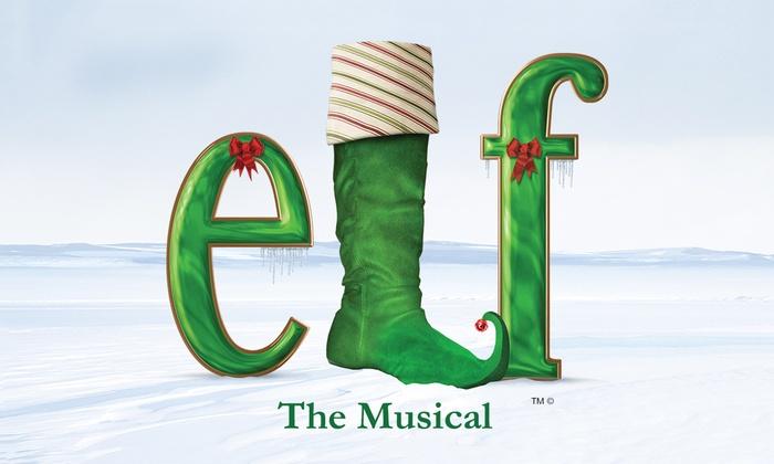 Sacramento Community Center Theater - Downtown Sacramento: ELF The Musical at Sacramento Community Center Theater