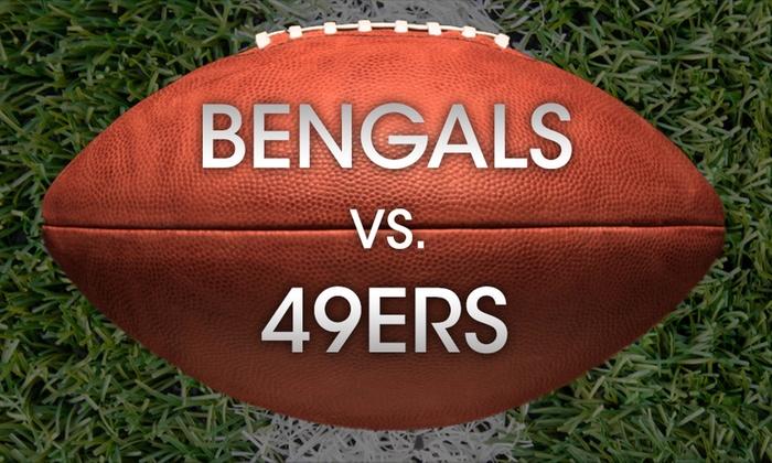 Levi's Stadium - Levi's Stadium: Cincinnati Bengals vs San Francisco 49ers at Levi's Stadium