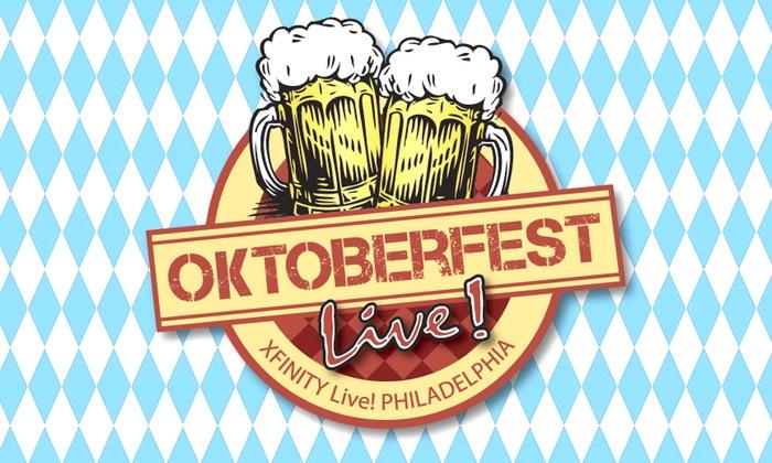 XFINITY Live! Philadelphia  - Philadelphia: Oktoberfest Live! 2016 - Philadelphia Craft Beer & Music Festival