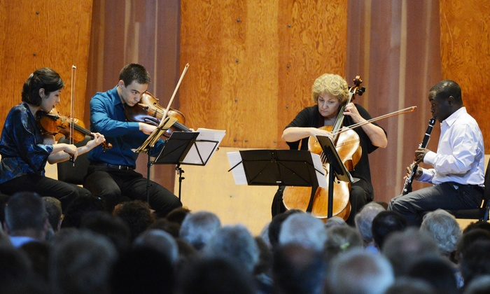 Mandel Hall - South Side: Musicians from Marlboro with Anthony McGill at Mandel Hall