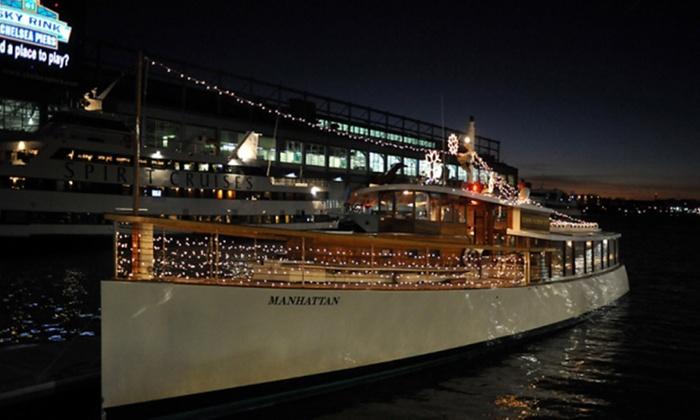 Yacht Manhattan - New York: Champagne City Lights Cruise