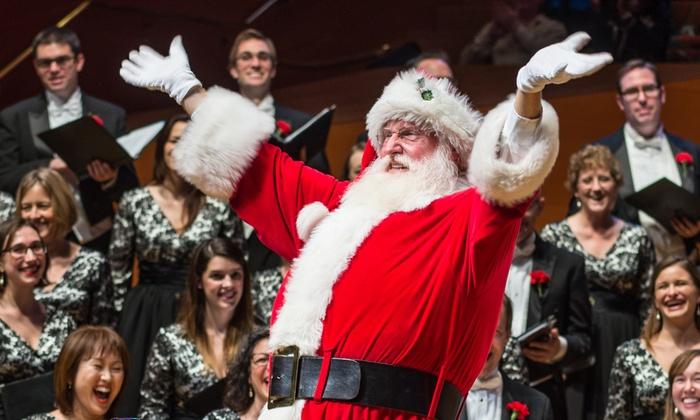 Walt Disney Concert Hall - Bunker Hill: Los Angeles Master Chorale: Festival of Carols at Walt Disney Concert Hall