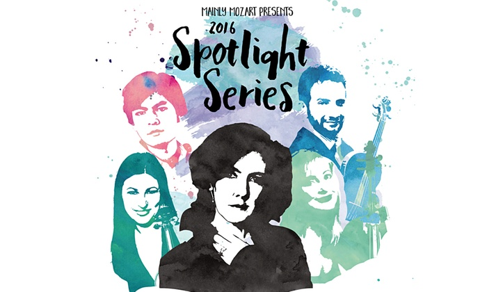 Mainly Mozart Concert Series - San Diego: Mainly Mozart Spotlight Series 2016 @ The Auditorium at TSRI at Mainly Mozart Concert Series