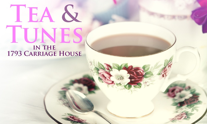 Gore Place - Watertown West End: Tea and Tunes in the 1793 Carriage House at Gore Place