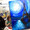 Eiffel Tower Wine & Paint Party