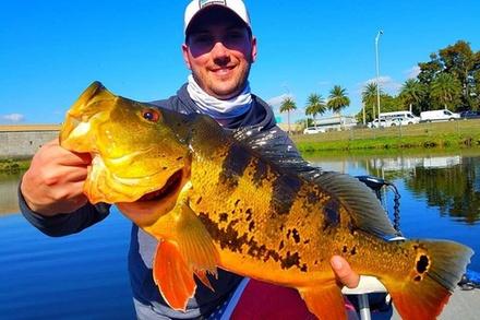 Peacock Bass Fishing Trips Near Miami Florida
