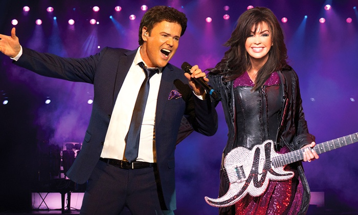 Donny & Marie Showroom - The Strip: Donny & Marie Osmond