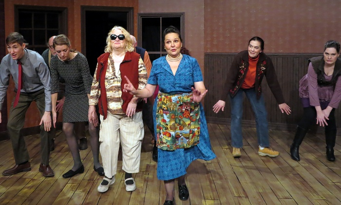 Apollinaire Theatre Company at Chelsea Theatre Works - Belingham Square: A Beautiful Day in November on the Banks of the Greatest of the Great Lakes at Apollinaire Theatre Company at Chelsea Theatre Works