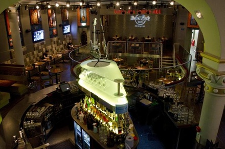 Skip the Line: Hard Rock Cafe Glasgow Including Meal