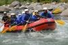 Rafting sul fiume Sesia