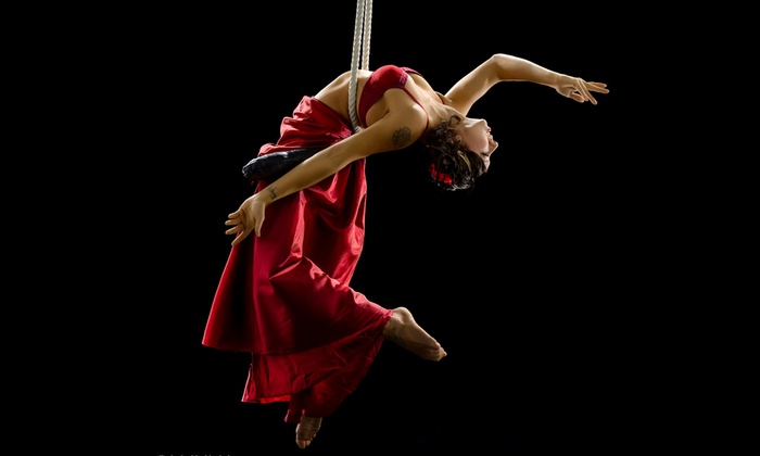 Echo Theater  - Richmond: Acrobatic Conundrum's Love & Gravity at Echo Theater