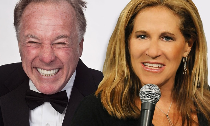 """The Rrazz Room at Coral Springs Museum of Art - Coral Springs Municipal Complex: Jackie """"The Joke Man"""" Martling and Michele Balan at The Rrazz Room at Coral Springs Museum of Art"""