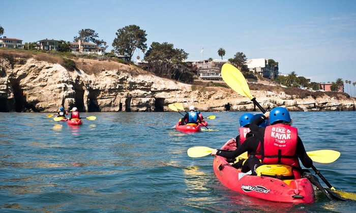 La Jolla Shores - Northern San Diego: Kayak Tours of the Seven Caves