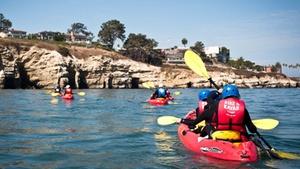 La Jolla Shores: Kayak Tours of the Seven Caves at La Jolla Shores