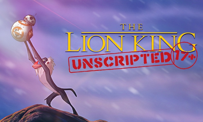 Queensbury Theatre - Westside: The Lion King: Unscripted at Queensbury Theatre