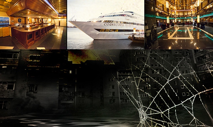 Cornucopia Majesty Yacht - Two Bridges: A Nightmare on the Hudson at Cornucopia Majesty Yacht