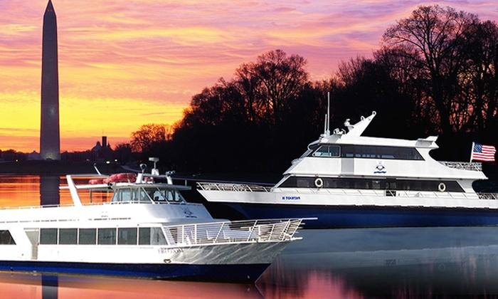 National Ferry Fleet  - Southwest Washington: Sunset on the Harbor at National Ferry Fleet