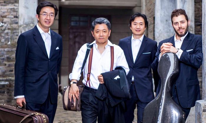 Kaul Auditorium - Reed: Shanghai Quartet & Wu Man, Pipa at Kaul Auditorium