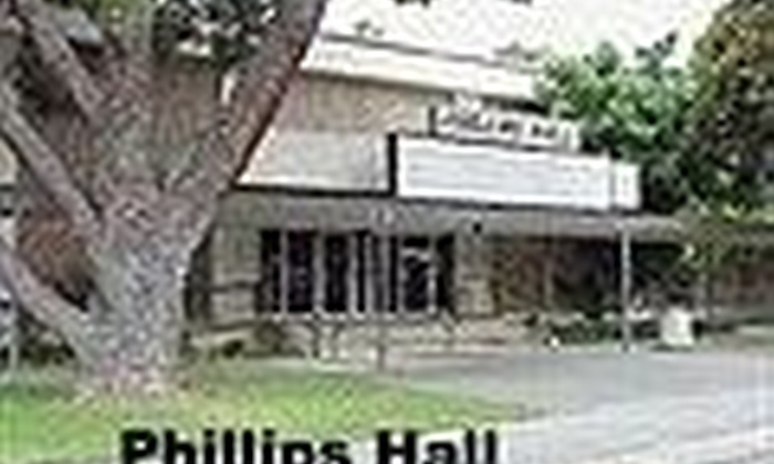 phillips hall theatre at santa ana college in santa ana ca groupon
