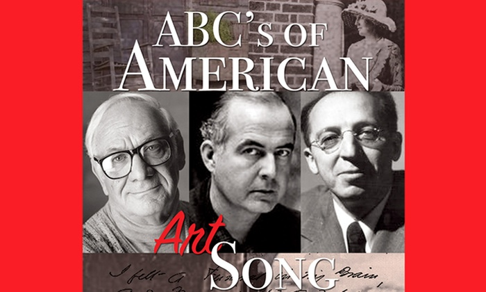 Source - U-Street: The ABC's of American Art Song at Source