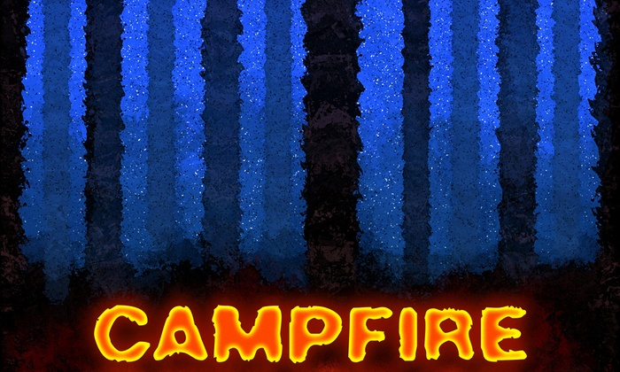 Unexpected Productions' Market Theater - Downtown Seattle: Campfire at Unexpected Productions' Market Theater
