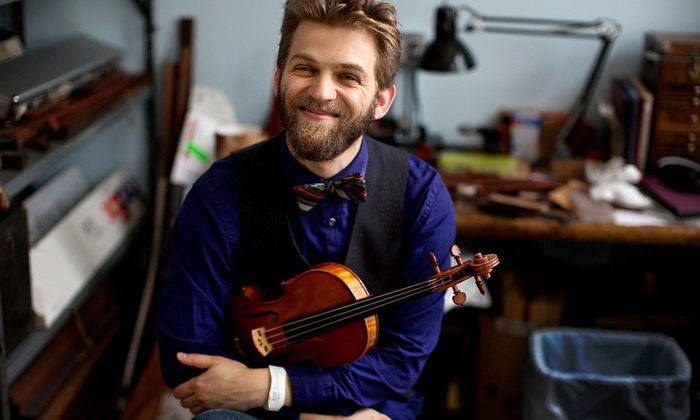 Kresge Auditorium - MIT: Violinist Johnny Gandelsman at Kresge Auditorium