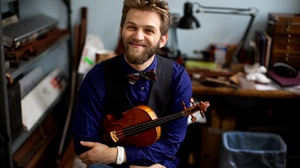 Kresge Auditorium: Violinist Johnny Gandelsman at Kresge Auditorium