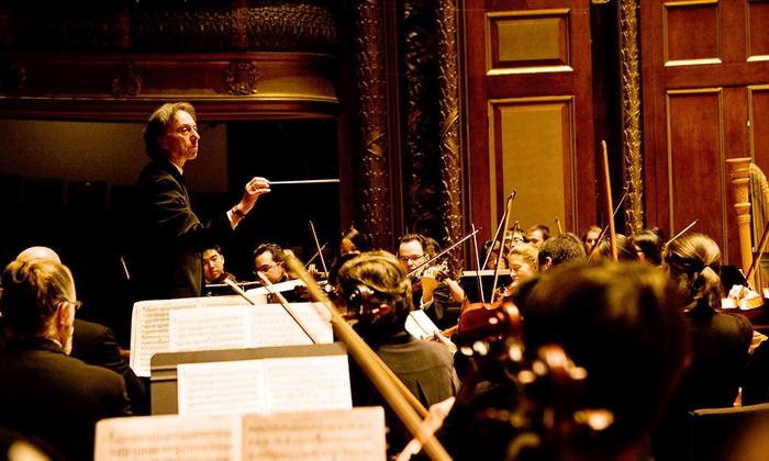 Jordan Hall at New England Conservatory - Fenway - Kenmore - Audubon Circle - Longwood: Longwood Symphony: Rossini, Stravinsky & Paganini at Jordan Hall at New England Conservatory