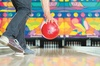 "$22.50 For 1 Game Of Bowling & Shoe Rental For 4 Plus A Large 16"" C..."