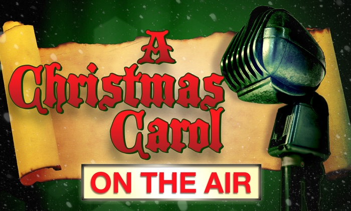 The Box Theater - Downtown Riverside: A Christmas Carol on the Air at The Box Theater