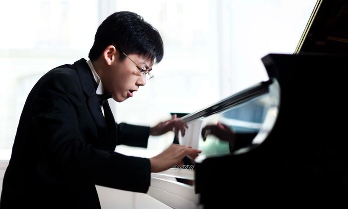 Visual and Performing Arts Center, De Anza College - Cupertino: Pianist Haochen Zhang at Visual and Performing Arts Center, De Anza College