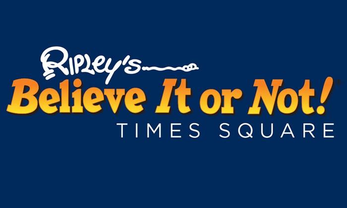 Ripley's Believe It or Not! - Manhattan: Ripley's Believe It or Not! Times Square at Ripley's Believe It or Not!
