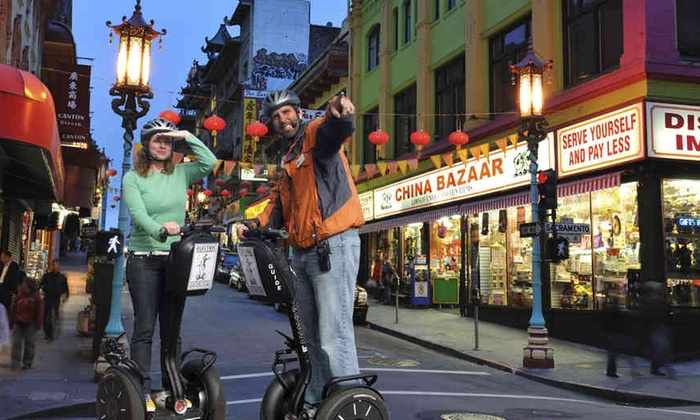 SF Electric Tour Company - San Francisco: San Francisco Night Segway Tour: Chinatown, Little Italy, Embarcadero and Fisherman's Wharf at SF Electric Tour Company