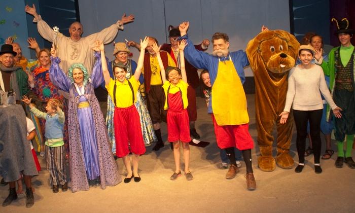 Orinda Community Center Amphitheater - Country Club: Carlo Collodi's Pinocchio at Orinda Community Center Amphitheater