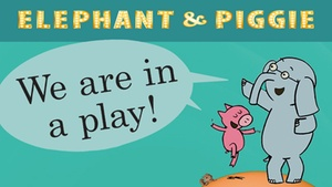 """Eve Alvord Theatre -  Seattle Children's Theatre: Elephant & Piggie's """"We Are in a Play!"""" at Eve Alvord Theatre - Seattle Children's Theatre"""