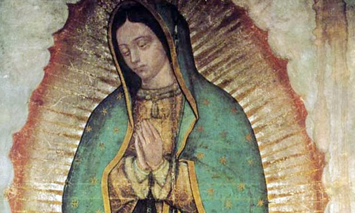 Houston Museum of Natural Science - The Museum District: Virgin of Guadalupe: Empress of America Exhibit