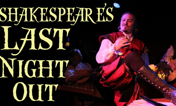 Three Clubs - Hollywood: Shakespeare's Last Night Out at Three Clubs