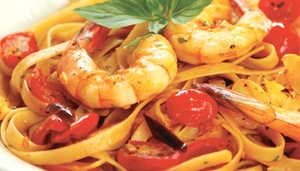 CAPONE'S GOURMET PIZZA & PASTA TRATTORIA: $15 For $30 Worth Of Gourmet Pizza, Pasta & More