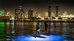 Coronado Ferry Landing: Stand Up Paddle Board Night Tour at Coronado Ferry Landing