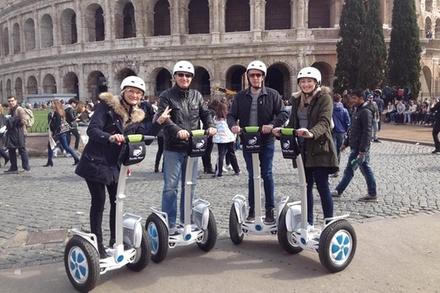 Sconto Tour & Giri Turistici Groupon.it Tour in Segway di 3 ore della Roma classica