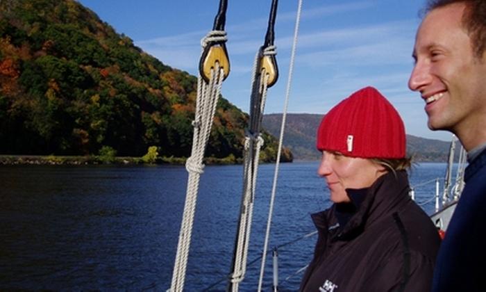 Schooners Adirondack - Midtown Manhattan: Fall Foliage Lunch Schooner Sail at Schooners Adirondack
