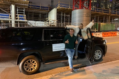 Private Atlanta Nightlife Tour by Luxury Car