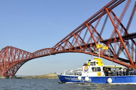 Three Bridges & Inchcolm Island cruise. See the seals and other marine wildlife
