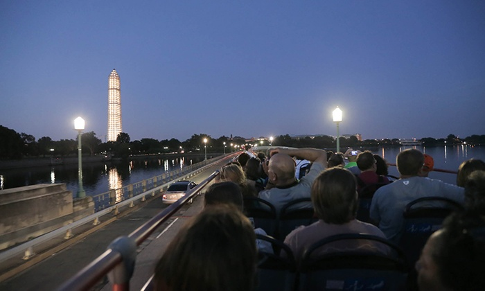 Nighttime Bus Tour Of Dc
