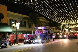 Party Bike Pub Crawl in West Palm Beach at CP Tours West Palm Beach, plus 6.0% Cash Back from Ebates.