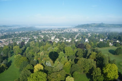 Experience: Hot Air Balloon Flight from Bath For just: £125.0