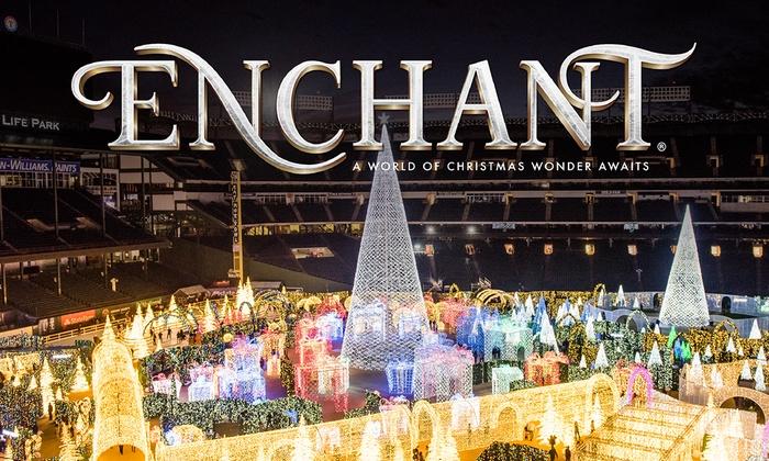 Enchant Christmas.Enchant Christmas World S Largest Christmas Light Maze Market Sunday Dec 30 2018 Various Entry Times